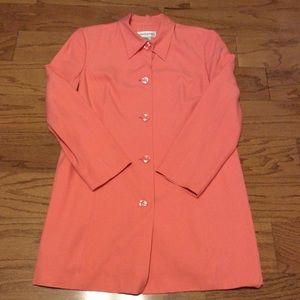 Bloomingdales Silk Jacket, Size 16